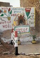 Burkina Faso - Haute Volta - Ouagadougou - Type De Décoration Des Façades De Maisons à La Noel - CPM - Voir Scans Recto- - Burkina Faso