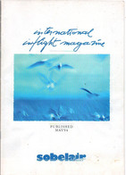 Magazine Sobelair 1994   Infligth Boutique Vliegtuig Avion Airplane Flugzeug - Other