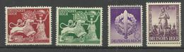 Deutsches Reich 816/819 ** - Unused Stamps