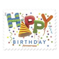 USA 2021, Happy Birthday Forever Stamps Sheet Of 20, VF MNH** - Ganze Bögen