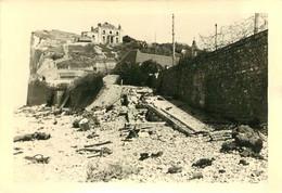 PHOTO ORIGINALE ALLEMANDE  RAID DE DIEPPE OPERATION JUBILEE 19/08/1942 PLAGE DE PUYS - War, Military