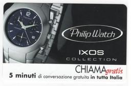 CHIAMAGRATIS PHILIP WATCH, NUOVA , 5 Minuti, Tiratura 20.000, Mantegazza, 31/03/2001 - Unclassified