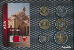 Bahrain Inseln Stgl./unzirkuliert Kursmünzen Stgl./unzirkuliert Ab 2002 5 Fils Bis 500 Fils - Bahrain
