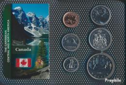 Kanada Stgl./unzirkuliert Kursmünzen Stgl./unzirkuliert Ab 1968 1 Cent Bis 1 Dollar - Canada