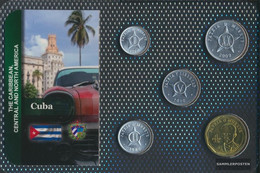 Cuba Stgl./unzirkuliert Kursmünzen Stgl./unzirkuliert Ab 1963 1 Centavo Until 1 Peso - Cuba