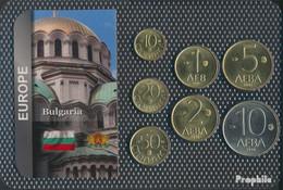 Bulgarien 1992 Stgl./unzirkuliert Kursmünzen 1992 10 Stotinki Bis 10 Lev - Bulgaria