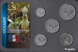 Neukaledonien Stgl./unzirkuliert Kursmünzen Stgl./unzirkuliert Ab 1949 50 Centimes Bis 10 Francs - New Caledonia