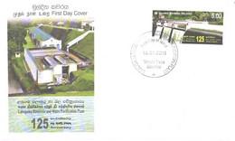 Sri Lanka:Ceylon:FDC, Labugama Reservoir And Water Purification Plant 125, 18.01.2011 - Sri Lanka (Ceylon) (1948-...)