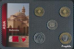 Bahrain Inseln Stgl./unzirkuliert Kursmünzen Stgl./unzirkuliert Ab 1991 5 Fils Bis 100 Fils - Bahrain