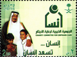 Arabie Saoudite Saudi 1281 Soins Aux Orphelin, Stétoscope, SM Abdallah Ibn Abdul Aziz - Sin Clasificación