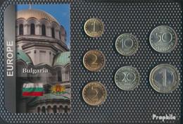 Bulgarien Stgl./unzirkuliert Kursmünzen Stgl./unzirkuliert Ab 1999 1 Stotinki Bis 1 Lev - Bulgaria