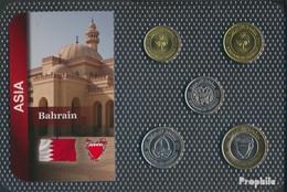 Bahrain Inseln Stgl./unzirkuliert Kursmünzen Stgl./unzirkuliert Ab 2002 5 Fils Bis 100 Fils - Bahrain