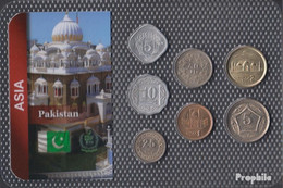 Pakistan Stgl./unzirkuliert Kursmünzen Stgl./unzirkuliert Ab 1981 5 Paisa Bis 5 Rupees - Pakistan