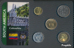Kolumbien Stgl./unzirkuliert Kursmünzen Stgl./unzirkuliert Ab 1995 20 Pesos Bis 500 Pesos - Colombia