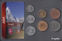 Nepal Stgl./unzirkuliert Kursmünzen Stgl./unzirkuliert Ab 1994-2000 10 Paise Bis 10 Rupees - Nepal