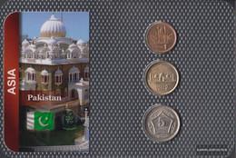 Pakistan Stgl./unzirkuliert Kursmünzen Stgl./unzirkuliert Ab 2001 1 Rupee Until 5 Rupees - Pakistan