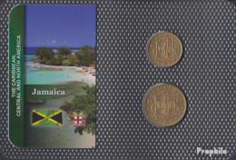 Jamaica Stgl./unzirkuliert Kursmünzen Stgl./unzirkuliert Ab 1953 1/2 Penny Und 1 Penny - Jamaica