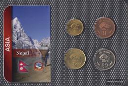 Nepal 1997 Stgl./unzirkuliert Kursmünzen 1997 1 Rupee Until 10 Rupees - Nepal