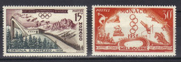 Monaco Timbres  N° 442 N° 443  Neufs Neuf ** Jeux Olympiques - Unused Stamps
