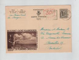 1432PR/ Entier CP Publibels 1497M C.Brugge 1958 > BXL - Publibels