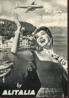 """66399 Italia, Circuled Card  1957  """"ah  Italy, By ALITALIA"""" - Other"""