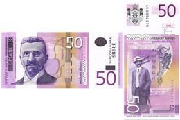 SERBIA 50 DINARA 2014 P 56b - UNC - Serbia