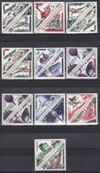 Monaco Timbres  N° 453 à 472  Neuf  ** Timbres-taxe Surchargés Avec Nouvelles Valeurs Série Complète - Unused Stamps