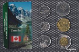 Kanada 2017 Stgl./unzirkuliert Kursmünzen 2017 5 Cents Bis 2 Dollars - Canada
