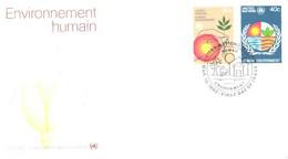 United Nation:Human Environment, 19.03.1982 - Briefe U. Dokumente