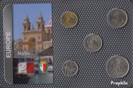 Malta 1986 Stgl./unzirkuliert Kursmünzen 1986 1 Cent Bis 25 Cents - Malta