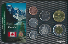 Kanada Stgl./unzirkuliert Kursmünzen Stgl./unzirkuliert Ab 2003 1 Cent Bis 2 Dollar - Canada