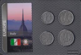 Italy Extremely Fine Kursmünzen Extremely Fine Ab 1939 20 Centesimi Until 2 Lire - Other