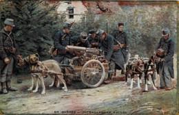 *Belgique* - Guerre Sur Le Front Belge - Mitrailleuses Belges - Lot De 2 Cartes Postales - Attelage De Chiens -voir Scan - Non Classés