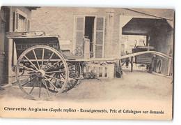CPA 10 Sainte Savine Paul Foin Carrosserie Moderne Automobille Et Attelée Charette Anglaise - Other Municipalities