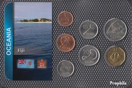Fidschi-Inseln Stgl./unzirkuliert Kursmünzen Stgl./unzirkuliert Ab 1990 1 Cent Bis 1 Dollar - Fiji