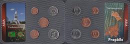 Turkmenistan 1993 Stgl./unzirkuliert Kursmünzen 1993 1 Tenge Bis 50 Tenge - Turkmenistan