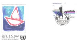 United Nation:Safety At Sea, 18.03.1983 - Briefe U. Dokumente