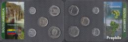 Venezuela Stgl./unzirkuliert Kursmünzen Stgl./unzirkuliert Ab 1998 10 Bolivares Bis 500 Bolivares - Venezuela
