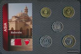 Bahrain Islands Stgl./unzirkuliert Kursmünzen Stgl./unzirkuliert Ab 2002 5 Fils Until 100 Fils - Bahrain
