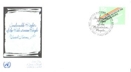United Nation:FDC:Unalienable Rights Of The Palestinian People, 30.01.1981 - Briefe U. Dokumente