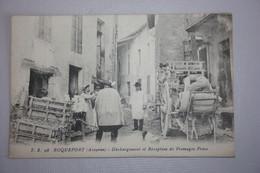 Roquefort - Déchargement Et Réception De Fromages Frais - Roquefort