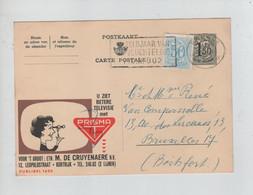 1439PR/ Entier CP Publibel 1625A + TP C.Brugge 1960 > BXL Boitsfort - Publibels