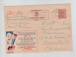 1445PR/ Entier CP Publibel 1690 C. Brugge 1960 > BXL Boitsfort - Publibels