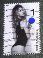 Nederland - NVPH - 3471 - 2016 - Gebruikt - Cancelled - Doutzen - Kroes - Mode - Muze - Bal Bij Rechterhand - Used Stamps