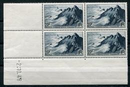 RC 21353 FRANCE N° 764 COIN DATÉ POINTE DU RAZ 2.10.48 NEUF ** TB MNH VF - 1940-1949