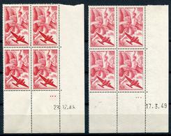 RC 21354 FRANCE N° 17 COIN DATÉ IRIS 2 DATES DIFFERENTES NEUF ** TB MNH VF - 1940-1949