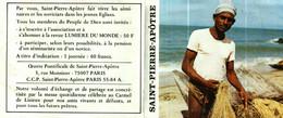 Petit Calendrier 1984   L'Oeuvre Pontificale De Saint-Pierre-Apôtre    Je Vous Ferai Pêcheur D'Homme - Small : 1981-90