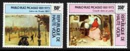 Haute Volta P.A. N° 196/ 97  XX  Pablo Ruiz Picasso, Tableaux, Les 2 Valeurs  Sans Charnière TB - Haute-Volta (1958-1984)