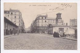 CP 75 PARIS 12e La Place D'Aligre - Paris (12)