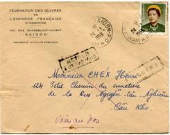 VIET-NAM LETTRE DEPART SAIGON 24-11-1953 VIET-NAM POUR LE VIET-NAM - Vietnam